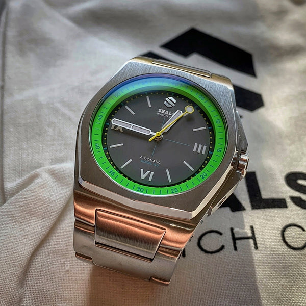 Model A.5 Automatic Wrist Watch - Acid Green