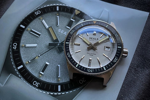 """Sea Storm"" Dive Watch - Limited Run Skin Diver - With Date"