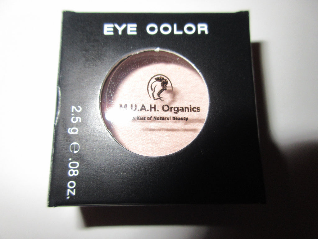 Nakedly Shimmering-All Natural Eyeshadow - M.U.A.H. Organics