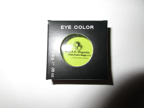 Rock-n-Popsickle Green-All Natural Eyeshadow - M.U.A.H. Organics