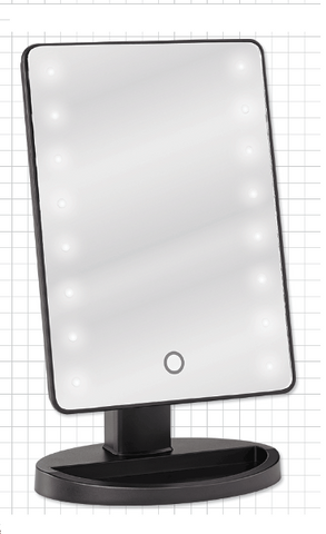 LED Backlit Mirror for Tabletops - M.U.A.H. Organics