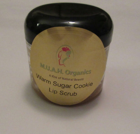 Warm Sugar Cookie Lip and Body Scrub - M.U.A.H. Organics