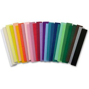 AF-074 36 Assorted Colors Tissue Paper - Pack of 864 Sheets - DisplayImporter