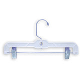 "AF-114 10"" Heavy Weight Pants & Skirt Hanger - Pack of 100 - DisplayImporter"