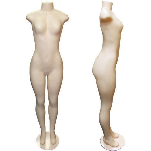 AF-118 Brazilian Style Female Full Body Mannequin Form - DisplayImporter