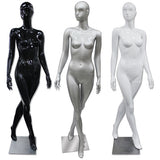 AF-190 Glossy Abstract Female Egghead Mannequin - DisplayImporter