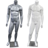 AF-200 Glossy/Matte Male Headless Mannequin - DisplayImporter