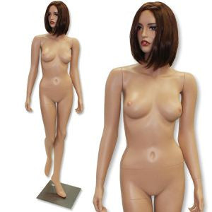 AF-208 Fleshtone Female Mannequin with Free Wig - DisplayImporter
