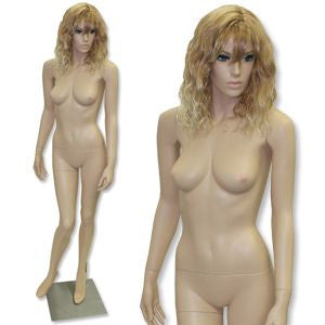 AF-209 Fleshtone Female Mannequin with Free Wig - DisplayImporter