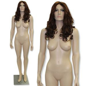 AF-210 Fleshtone Female Mannequin with Free Wig - DisplayImporter