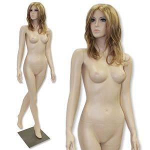 AF-212 Fleshtone Female Mannequin with Free Wig - DisplayImporter
