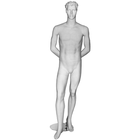 AF-MM1 Male Mannequin with Molded Hair