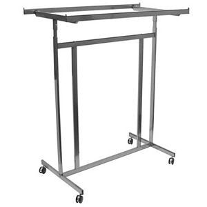 AF-RSR5585 Double Rolling Rack with Rectangular Tubing - DisplayImporter