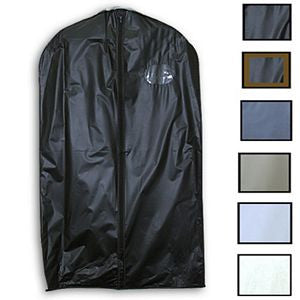 "AF-V40 40"" Vinyl Suit Bags - Pack of 100 - DisplayImporter"