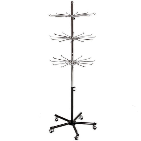 AFD-008 3 Tiers Spinning Hook Rack - DisplayImporter