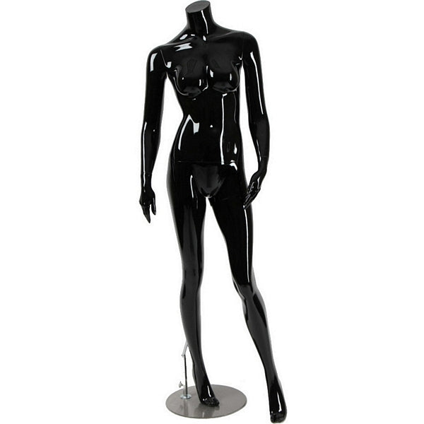 AFD-056 Glossy Female Headless Mannequin - DisplayImporter