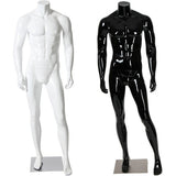 AFD-059 Glossy Male Headless Mannequin - DisplayImporter
