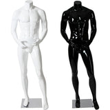 AFD-060 Glossy Male Headless Mannequin - DisplayImporter