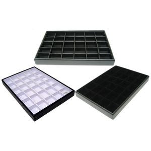 DS-139 Small Item Jewelry Organizer Tray  - DisplayImporter.com - 1