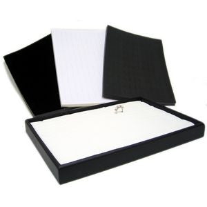 DS-141 Slotted Foam Ring Insert Pads for Jewelry Display Trays (Tray not Included) - DisplayImporter