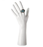 DS-187 Glossy White Glove and Jewelry Display Hand
