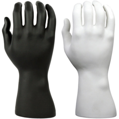 DS-190 Male Glove, Watch, and Jewelry Display Mannequin Hand - DisplayImporter