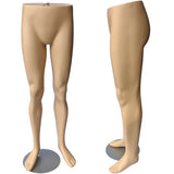 MN-F20850 Male Lower Torso Half Body Pants Mannequin Form with Hanging Loop - DisplayImporter