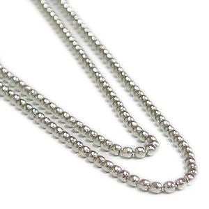 JS-008 1mm Small Ball Jewelry Chain - 100 meters - DisplayImporter
