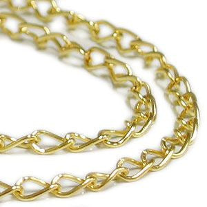 JS-017 2mm Curb Chain - 60 meters  - DisplayImporter.com