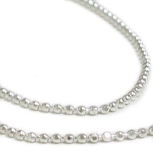 JS-018 1mm Small Ball Jewelry Chain - 100 meters - DisplayImporter