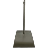 MA-022 Rectangular Wedge Dress Form Base with Extendable Pole - DisplayImporter