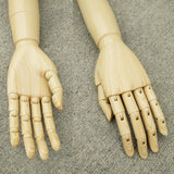 MA-031 Articulate Posable Plastic Pair of Mannequin/Dress Form Arms and Hands - DisplayImporter