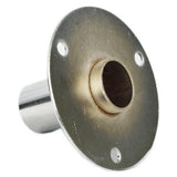 MA-041 Pole Connector Metal Flange Plate for Dress Forms (excludes pole) - DisplayImporter