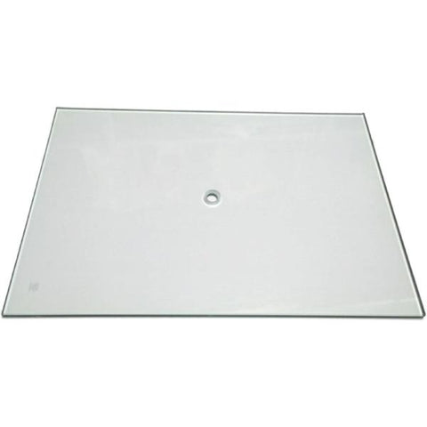 MA-045 Replacement Tempered Glass Base for Mannequin MN-246/MN-247 (does not include pole) - DisplayImporter