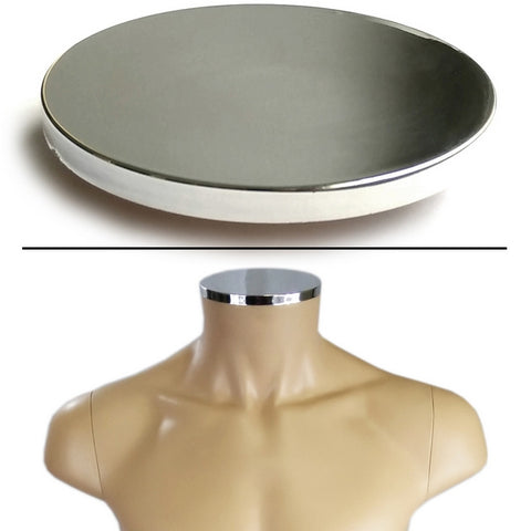 MA-100 Plastic Male Neck Cap for MR Mannequin Form Series