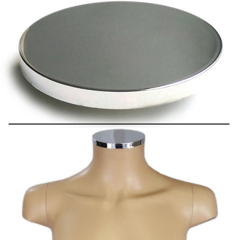 MA-101 Plastic Female Neck Cap for MR Mannequin Form Series - DisplayImporter