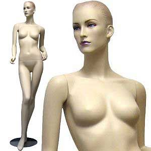 MN-029 Female Full Body Elegant Realistic Mannequin with Free Wig - DisplayImporter