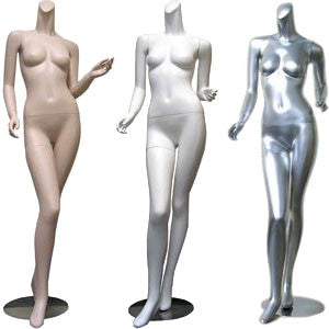 MN-074 Ladies Full Size Headless Mannequin  - DisplayImporter.com - 1