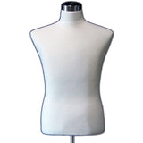 MN-113 Male Jersey Covered Dress Form Mannequin with Base