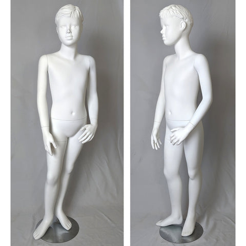 "MN-124 Young Teenage Boy Standing Mannequin 4' 7"" - DisplayImporter"
