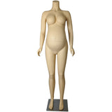 MN-129A Headless Pregnant Maternity Female Mannequin - DisplayImporter