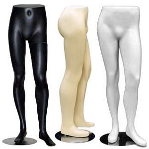 MN-146 Lower Torso Male Half Body Pants Form  - DisplayImporter.com - 1