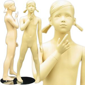 "MN-150 Young Standing Teenage Girl Mannequin 3' 11""  - DisplayImporter.com - 1"