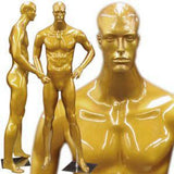 MN-161 Men's Full Size Standing Masculine Mannequin Gold - DisplayImporter.com - 2