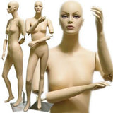 MN-192 Full Size Stylish Female Mannequin with Flexible Arms  - DisplayImporter.com - 1