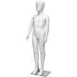 MN-227 Glossy Abstract Unisex Child Full Size Mannequin 4' 3.25""