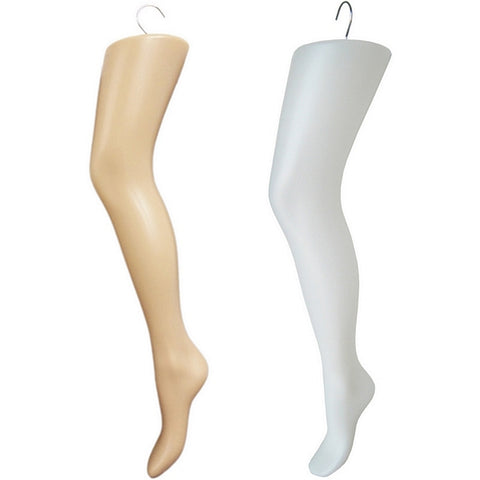 MN-233 Plastic Women's Thigh-High Hosiery Leg Hanger - DisplayImporter