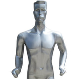 MN-253 Full Size Abstract Male Mannequin in Running Position - DisplayImporter