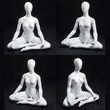 MN-283 Female Yoga Mannequin in Seated Easy Pose (Sukasana) - DisplayImporter