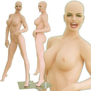 MN-312 Voluptuous Sexy and Fierce Female Mannequin (Kiana) with Free Wig - DisplayImporter